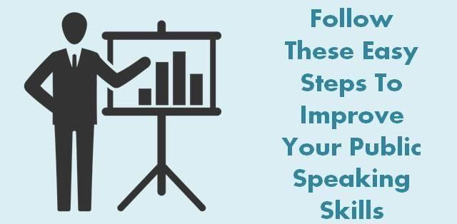 Improve Public Speaking